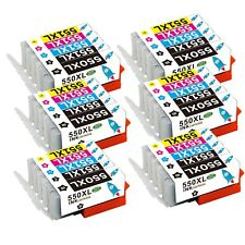 30 Druckerpatronen PGI 550 CLI 551 mit Chip für Drucker Canon PIXMA MG5400 MX925