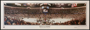 Colorado Avalanche | Professionally Framed Panorama Poster