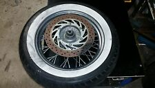 YAMAHA XVS 650 classic FRONT WHEEL WITH WHITE WALL TYRE 'BRISBANE'