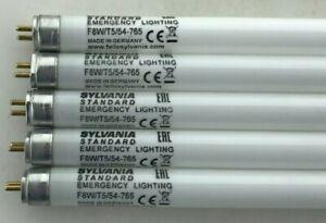 "5x Sylvania 8 Watt 12"" 8W Daylight T5 Fluorescent Tube caravan / emergency bulb"
