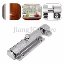 Home Door Window Security Bolt Latch Lock Button Push Open Safety Lock Hardware