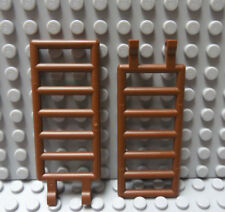 Lego Pair of Brown 7x3 Ladder with Clips