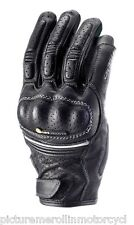 """NEW CLOVER ITALY """"KV-2"""" LEATHER SUMMER VENTED PERFORMANCE CITY MOTORCYCLE GLOVES"""