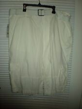 North 15 mens size 40 white cargo shorts New