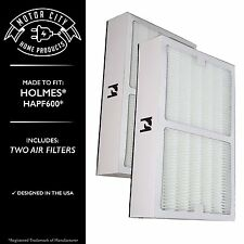 2PK Air Filter Fit Holmes HAPF600; Engineered by Motor City Home Products