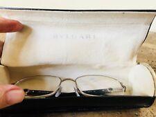 Bvlgari(Bulgari) Women's Eyeglass Frames  Black/Silver - Made in Italy