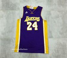 LOS ANGELES LAKERS #24 BRYANT BASKETBALL NBA SHIRT JERSEY TRIKOT ADIDAS BOYS