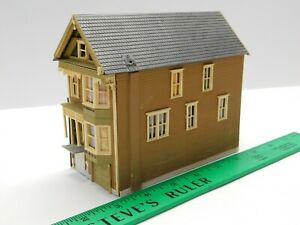 HO Scale 1/87 Residential House Building Structure For Model Train Layout