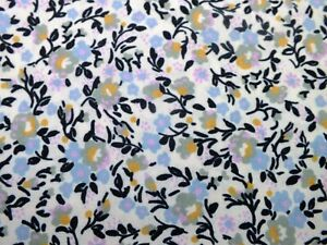 .100 %  polyester cotton  floral