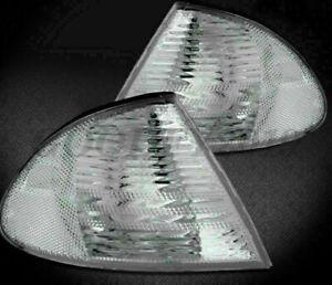Car CORNER LIGHTS for 98-01 BMW E46 3-SERIES 4DR SEDAN/WAGON - CRYSTAL Vehicle