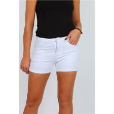 Sexy Ladies Stretch Jeans Hotpants Shorts White #H1966