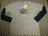 Jimmie Johnson #48 Lowe's NASCAR Long Sleeve T-shirt! Sizes M, L, XL, 2XL - 7414