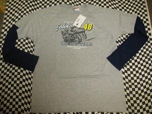 Jimmie Johnson #48 Lowe's NASCAR Long Sleeve T-shirt! Sizes M, L, XL, 2XL - 7414