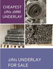 2in1- 2MM FLOATING UNDERLAY FOR SALE