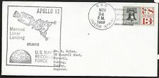 US 1969 Commemorative Cover - Apollo 12 Recovery Force Lunar Landing