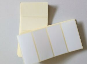 Blank White Self Adhesive Sticky Address Printer Labels 100X50mm 100 x 50mm
