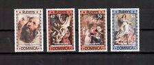 Dominica Michelnummer 586 - 590 postfrisch (Kunst 639 )