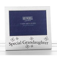 30 Silver Photo Frame Shudehill Mummy Daddy Sister Granddad Grandma VARIATION