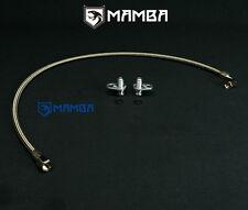 Mercedes Benz Amg A45 Cla45 Gla45 M133 Braided Steel Ptfe Turbo Oil Feed Line