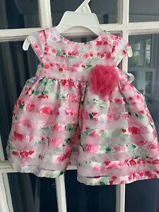 Marmellata Dress Baby Girls Size 3/6 Months - Floral - NWT