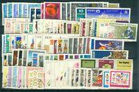 DDR Jahrgang 1968 , gestempelt , Auswahl aus Michel Nr. 1335 - 1433