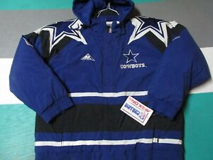 NWT Dallas Cowboys Logoathletic Double Star Apex One Jacket Men's Large Hooded