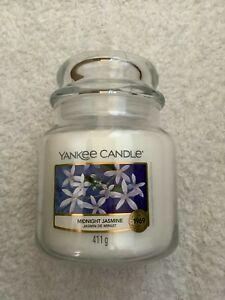 Yankee candle medium jar 'Midnight Jasmine'