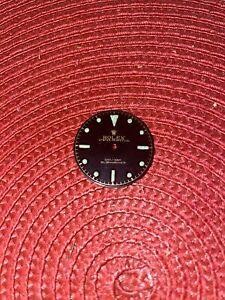 Vintage Reworked Rolex Dial