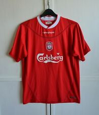 FC LIVERPOOL 2002/2003/2004 VINTAGE HOME FOOTBALL SHIRT JERSEY REEBOK SIZE (M)