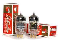 Genalex GOLD LION  ECC83 12AX7 Amplitrex AT-1000 Platinum Matched Pair -Marantz