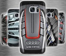 Car Engine Moto Sport F1 Plastic Rubber Phone Cover Case fits Samsung Galaxy