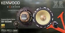 "NEW Kenwood XR1603HR 6.5"" 2-Way Component Car Stereo Speakers - 1 Pair 6-1/2"""