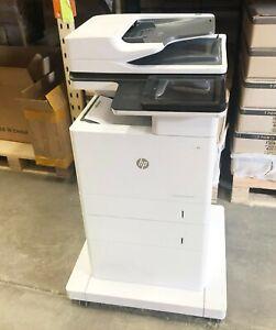 HP LaserJet Enterprise MFP M632  4in1 B&W Laser Network Printer 62PPM w Warranty