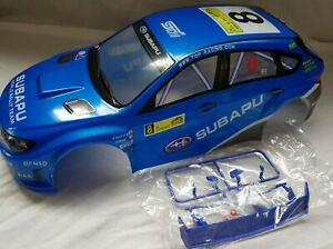1/10 RC car 190mm on road drift rally Subaru Body Shell Blue