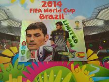 ADRENLYN XL PANINI FIFA WORLD CUP BRASIL 2014 Iker Casillas LIMITED EDITION
