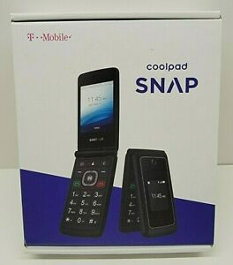 T-Mobile Coolpad Snap LG B450 Flip Phone :  Complete in Box :  Works Great