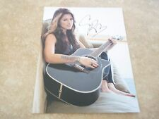 Cassadee Pope Sexy Country Signed Autographed 8x10 Music Photo PSA Guaranteed