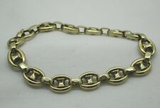 Vintage Lovely 14ct Gold Roller Link Bracelet