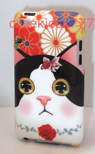 for iPod touch 4th 4 th 4g itouch cute kitten cat kitty fish flowers hard case