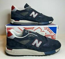 New Balance 998 M998JC1 J Crew X Navy Suede Sneakers Men Made In USA SZ 10.5 US