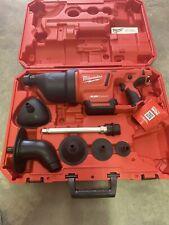 Milwaukee M12 Airsnakedrain Cleaning Air Gun Kit 2572b-21 New In Case