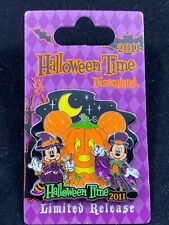 Disney Pin - DLR - Halloween Time 2011 - Mickey and Minnie Glitter LE 86283