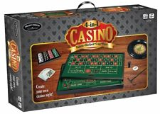 Front Porch Classics 4-in-1 Casino Roulette, Blackjack, Craps, and Poker NEW!