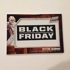 PEYTON MANNING #4 Tennessee Broncos 2015 Panini Black Friday Manufactured PATCH