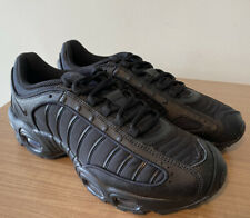 NIKE AIR MAX TAILWIND IV TRIPLE BLACK UK8.5, EUR43, US9.5, MENS TRAINERS GENUINE