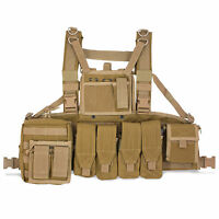 Bulldog Military Army Tactical Operator MOLLE Chest Rig Vest Carrier Coyote Tan