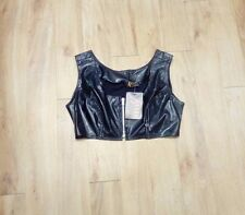 Arena / Belero Top / Feaux Leather / S / Size 14 - 1011