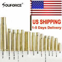 USA New Brass Red Dot Laser Bore sight Cartridge BoreSighter For Rifle Scope Gun