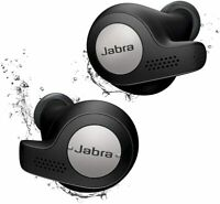 Jabra Elite 65t True Wireless Earbud Headphones Titanium Black W/Alexa RT