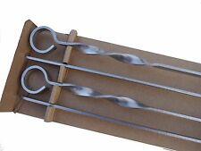Шампура для шашлыка, набор из 4-х штук, длина лезвия 70 см, в Англии.
